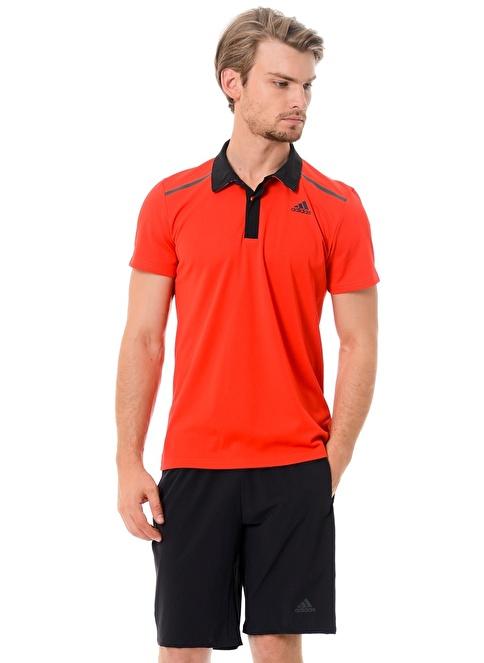 adidas Polo Yaka Tişört Kırmızı